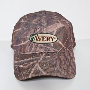 Avery Outdoors Camo Hunting Fitted Hat
